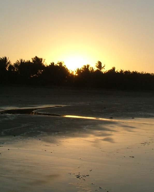 Lammermoor Beach Aug09 Sunset