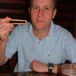Eating Whale in Tokyo