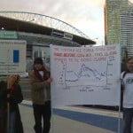 In Melbourne: Big Al, Small Protest