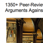 Peer-Reviewed Papers Supporting Skeptical Arguments Against AGW Alarmism